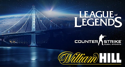 William hill scommesse esports
