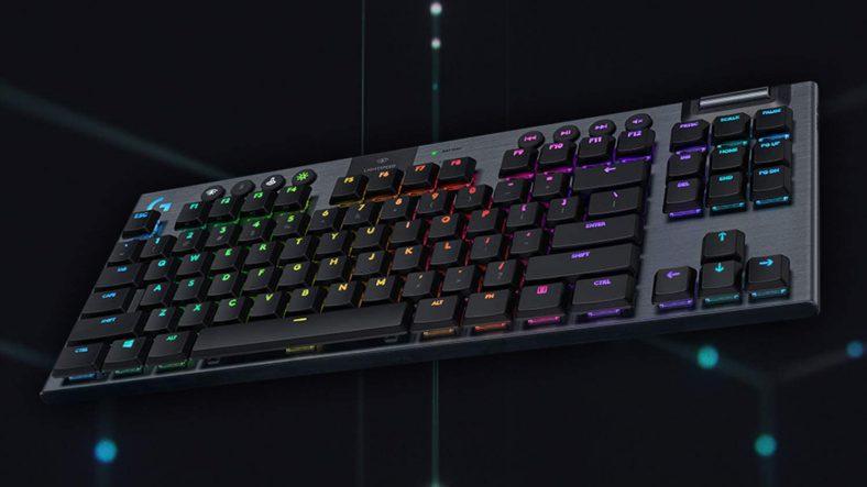 Logitech presenta G915 TKL, la nuova tastiera meccanica gaming senza tastierino numerico