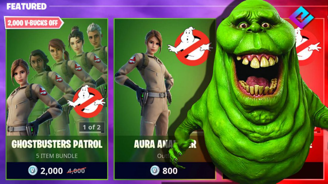 in arrivo la skin ghostbusters di Fortnite